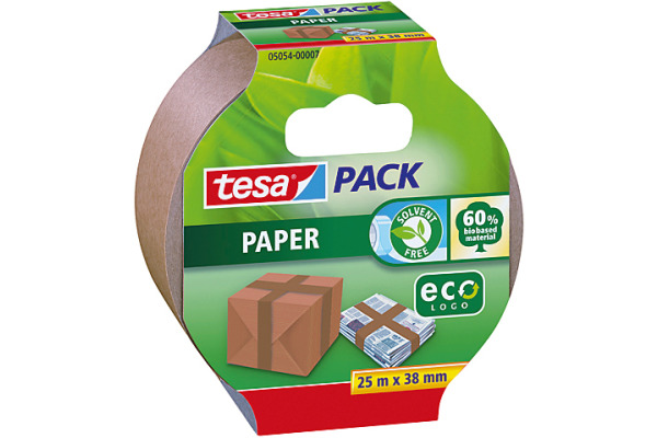 TESA Verpackungsband Eco 38mmx25m 505400007 braun