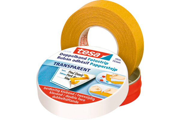 TESA Doppelband Dose 5338 533800000 15mmx10m