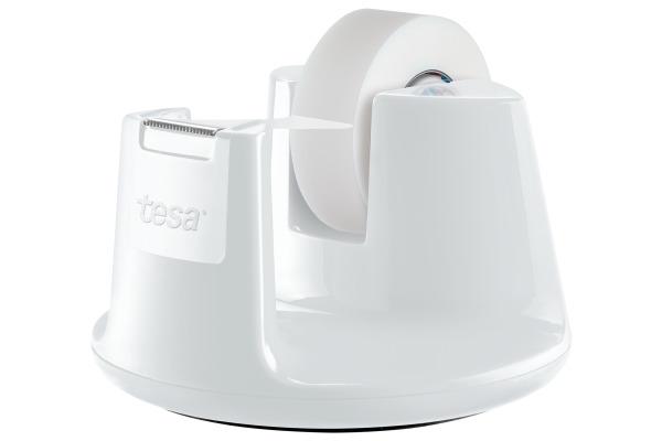 TESA Tischabroller EasyCut 19mmx33m 538380000 weiss