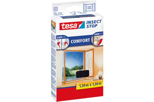 TESA Insect Stop COMFORT 1,3x1,3m 553960002 schwarz