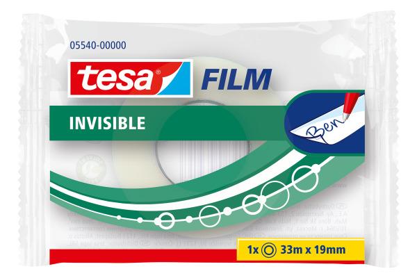 TESA Klebeband invisible 19mmx33m 554000000