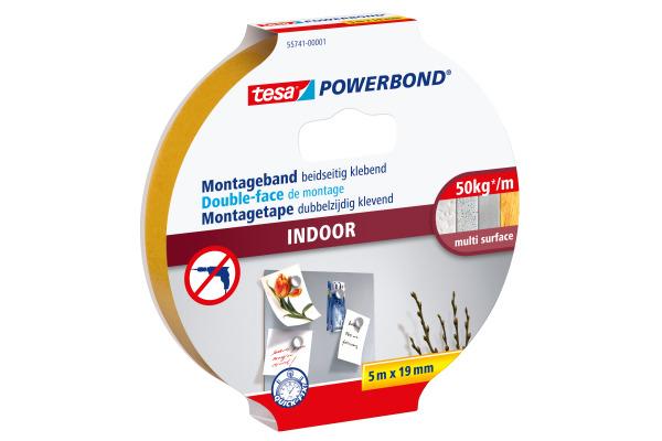TESA Montageband Indoor 19mmx5m 557410000
