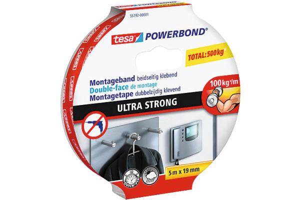 TESA Montage Powerbond 19mmx5m 557920000