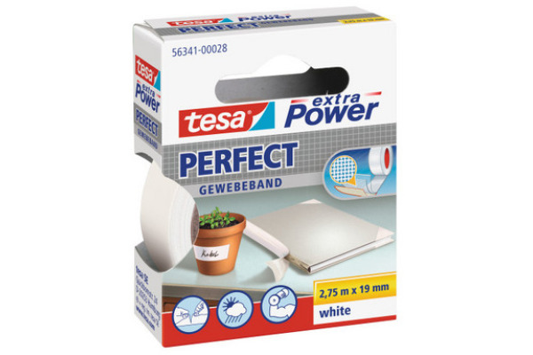TESA Extra Power Perfect 2.75mx19mm 563410002 Gewebeband....