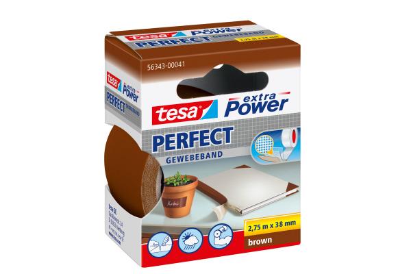 TESA Extra Power Perfect 2.75mx38mm 563430004 Gewebeband....