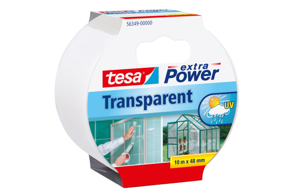 TESA Extra Power 10mx48mm 563490000 Gewebeband, transparent