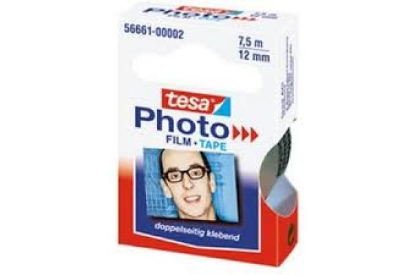 TESA Foto-Film doppelseitig 566610000 Ersatzrolle 12mmx7,5m