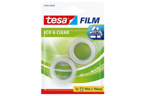 TESA Klebeband eco & clear 19mmx10m 570490000