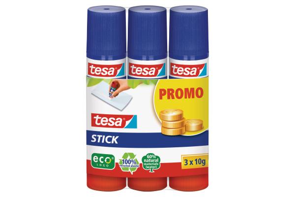 TESA Stick ecoLogo 3x10g 570870020 grün, 3...