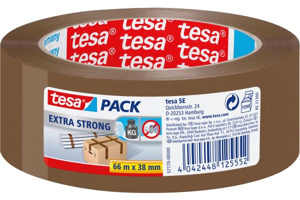 TESA Verpackungsband Extra 38mmx66m 571700000 braun