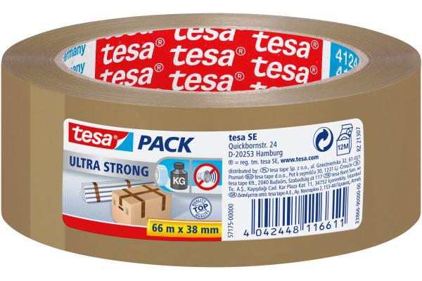 TESA Tesapack ultra strong 38mmx66m 571750000 braun,...