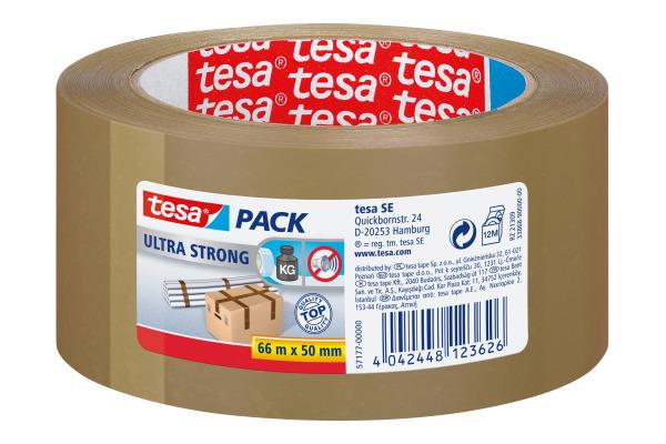TESA Tesapack ultra strong 50mmx66m 571770000 braun,...