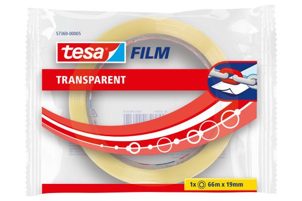 TESA tesafilm Flowpack 66mx19mm 573690000 transparent 1...