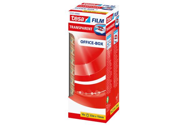 TESA Klebeband transparentBox 33mx15mm 573710000 10 Stück