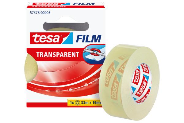 TESA tesafilm 19mmx33m 573780000 Refill transparent
