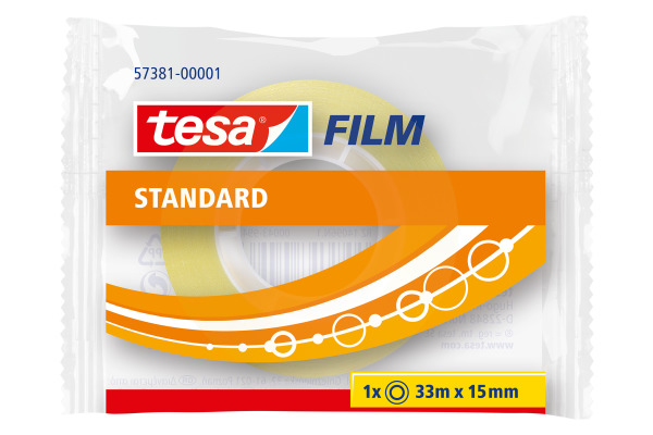 TESA Klebeband 15mmx33m 573810000 transparent