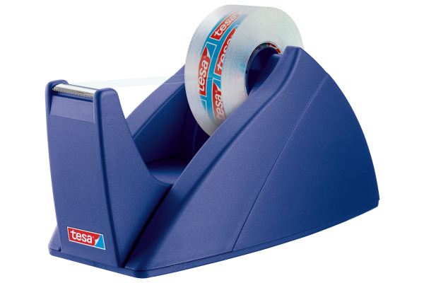 TESA Tischabroller EasyCut 33mx19mm 574210000 royalblau
