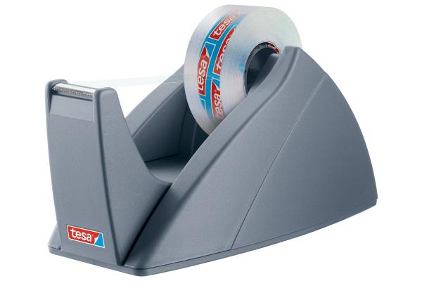 TESA Tischabroller EasyCut 19mmx33m 574210000 silber, ohne Rolle