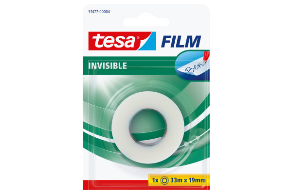 TESA Klebeband invisible 19mmx33m 574770000 Blister