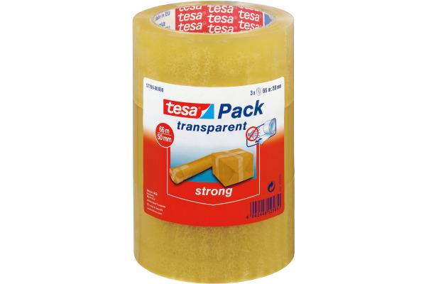 TESA Verpackungsband 50mmx66m 577990000 transparent 3...