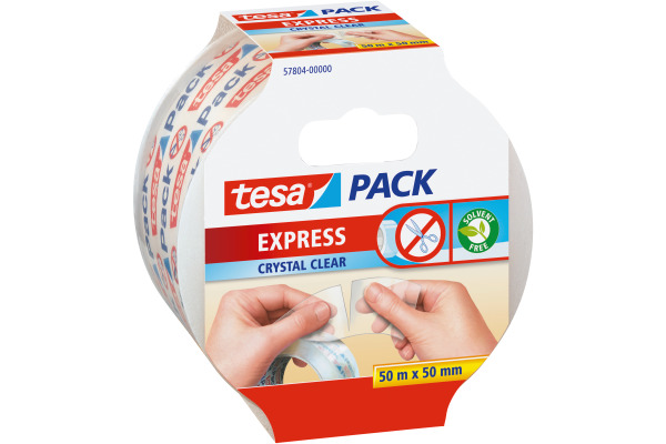 TESA Verpackungsband 50mmx50m 578040000 transparent