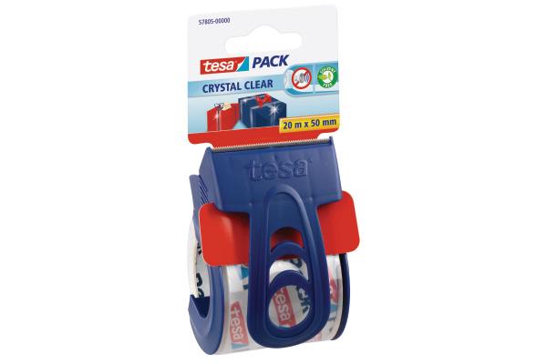 TESA Verpackungsband 50mmx20m 578050000 transparent