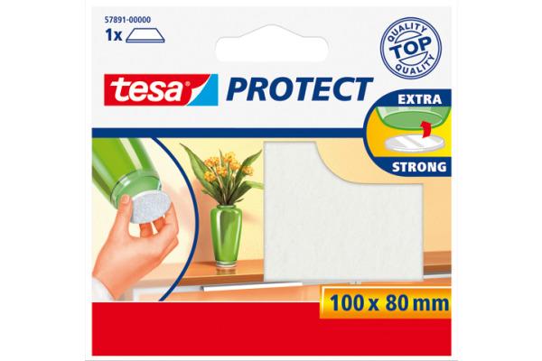 TESA Protect Filzgleiter 100mmx80mm 578910000 weiss,...