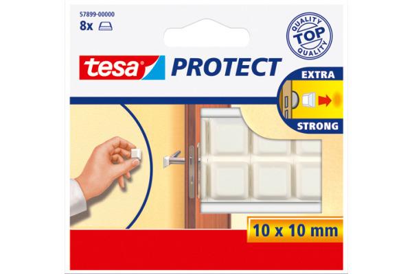 TESA Protect Schutzpuffer 10x10mm 578990000 weiss,...