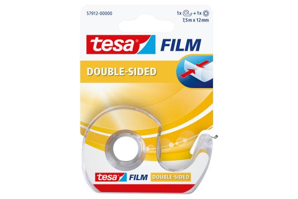 TESA Klebeband tesafilm 12mmx7.5m 579120000 transparent,...