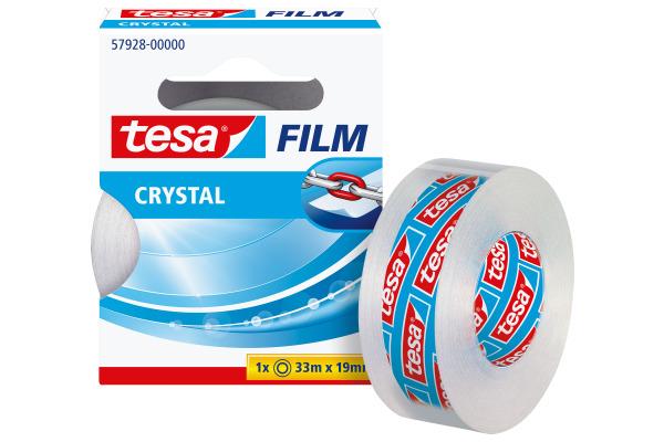 TESA Klebeband crystal 19mmx33m 579280000