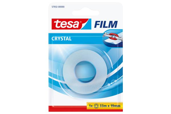 TESA Klebeband crystal 19mmx33m 579320000