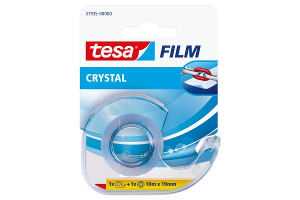 TESA Tape Crystal Abroller 19mmx10m 579350000 transparent