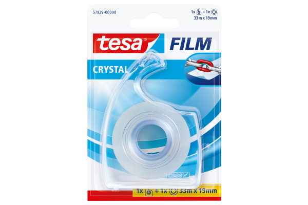 TESA Klebeband crystal 19mmx33m 579390000