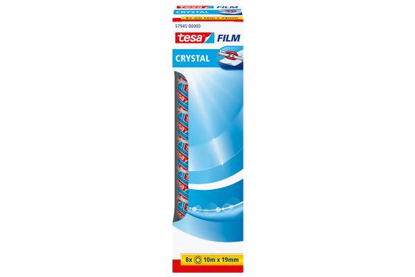TESA Crystal Tape 19mmx10m 579450000 8 Stück
