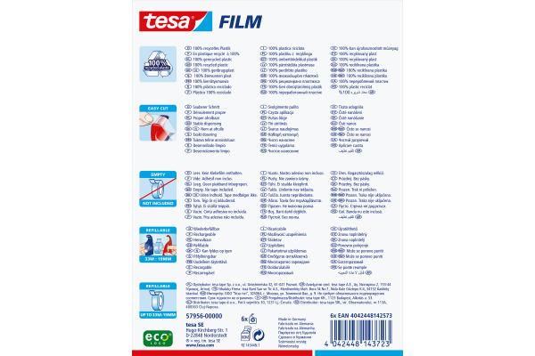 TESA Handabroller EasyCut -19mmx33m 579560000 grün