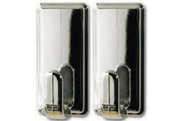 TESA Powerstrips Haken Classic 580510001 2 Haken 4 Strips Large