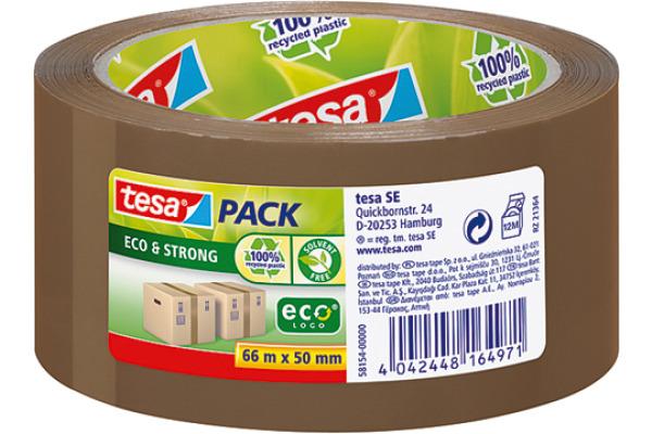 TESA Tesapack eco&strong 50mmx66m 581540000 braun
