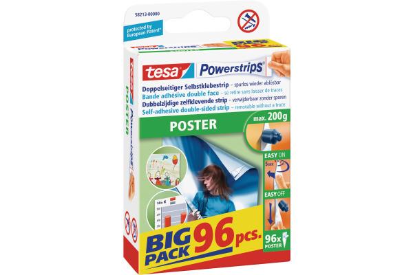 TESA Powerstrips Poster 96 Stück 582130000 Big...