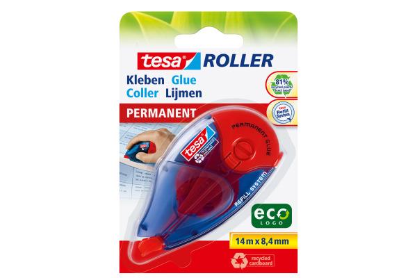 TESA Kleberoller Eco Logo 591510000 8,4mmx14m permanent