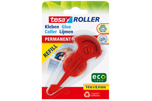 TESA Kleberoller Eco Logo 591560000 8,4mmx14m permanent
