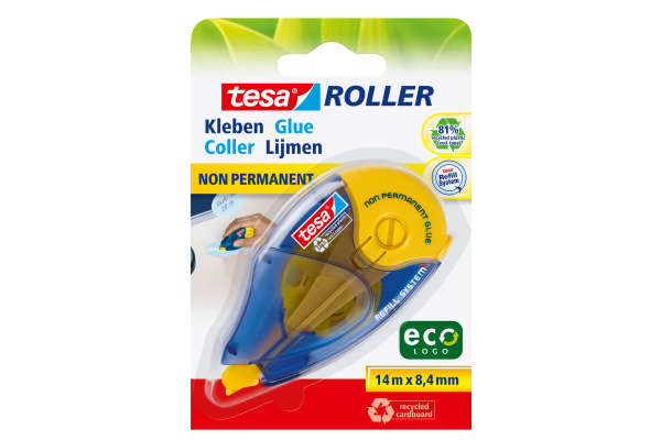 TESA Kleberoller Eco Logo 591610000 8,4mmx14m non-permit