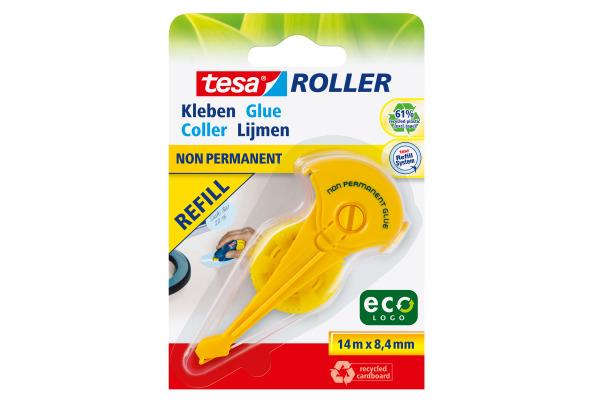 TESA Kleberoller Eco Logo 591660000 8,4mmx14m non-perm.