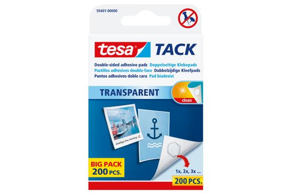 TESA Powerstrips Tack 594010000 200 Stück