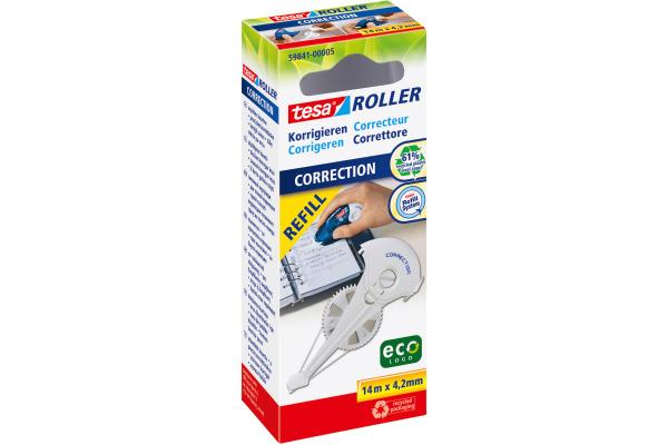 TESA Korrekturroller Refill 598410000 4,2mmx14m