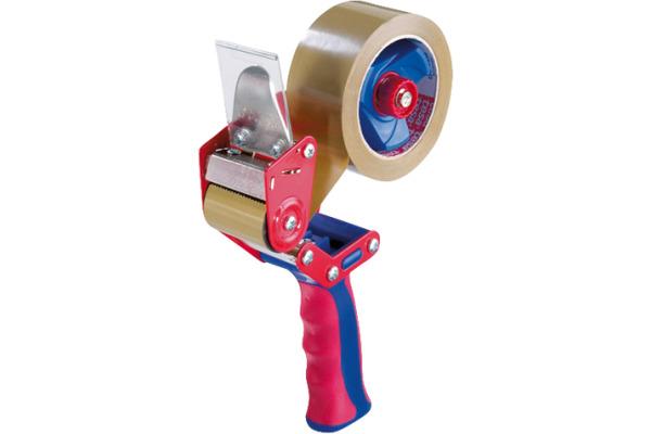 TESA Tesapack Handabroller Comfort 640000001 rot, bis...