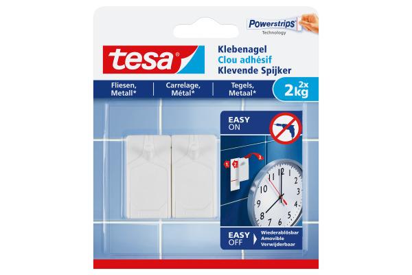 TESA Klebenagel 2x2 kg 777620000 Fliesen & Metall