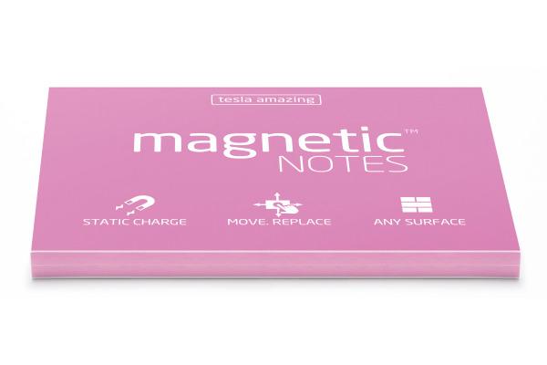 TESLA AM. Magnetic Notes M 100x70mm 014 pink 100 Blatt