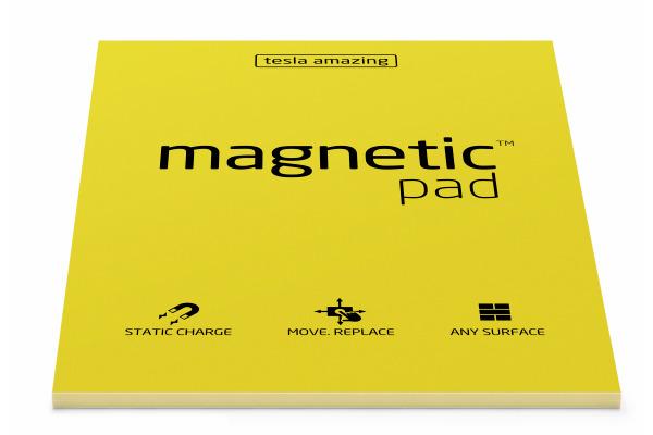TESLA AM. Magnetic Pad A5 025 yellow 50 Blatt