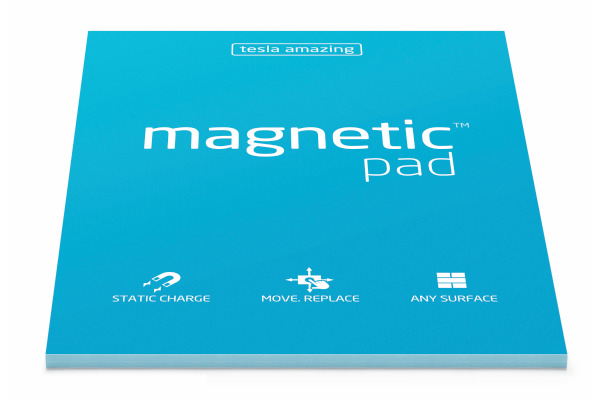 TESLA AM. Magnetic Pad A5 027 blue 50 Blatt
