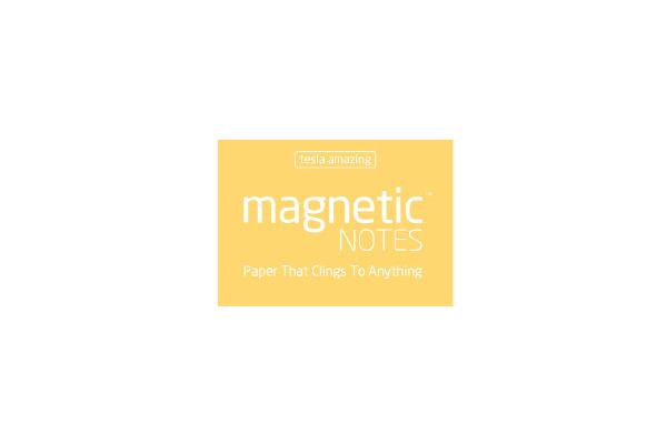 TESLA AM. Magnetic Notes S 70x50mm 103 sunshine 100 Blatt
